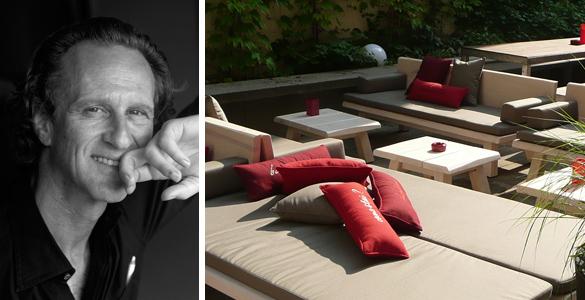 Star-Designer Matteo Thun hat das Vapiano (Fünf Höfe) noch stylischer gemacht