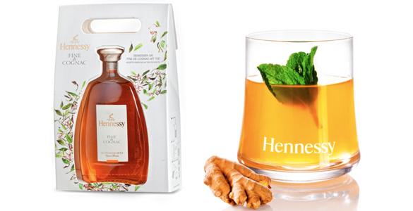 Exklusives Geschenk für Cognac- und Tee-Freunde: Hennessy Fine de Cognac
