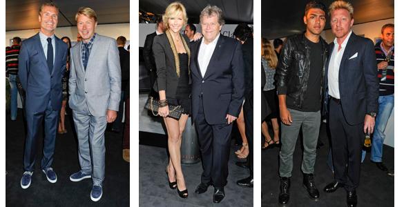Party, Promis und eine Weltpremiere am Hockenheimring: Mercedes-Benz Night of the Stars