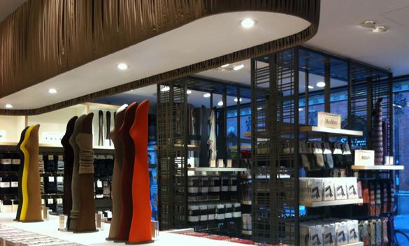 Neues Strumpfhaus für Kaufhaus Ludwig Beck