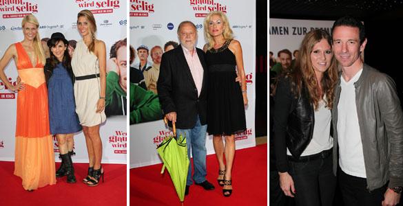 Premierenfeier 'WER'S GLAUBT WIRD SELIG' im Mathäser: Filmstart am 16. August 2012