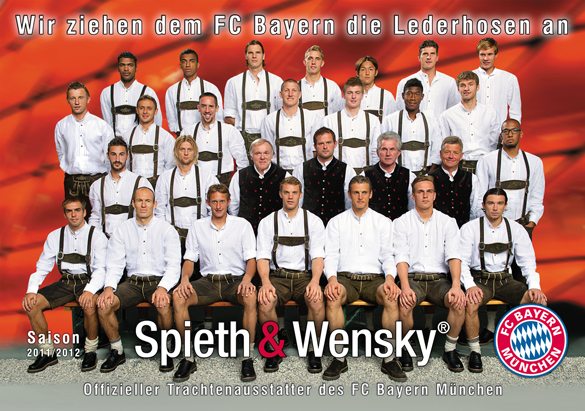 FC Bayern in Tracht: Oktoberfest-Outfit von Martinez & Co.