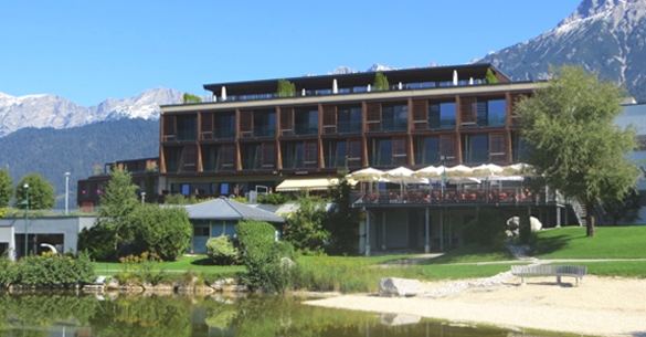 Wellness-Hotel mit Wellness-Koch: Ritzenhof am See ca. 158 Km von München