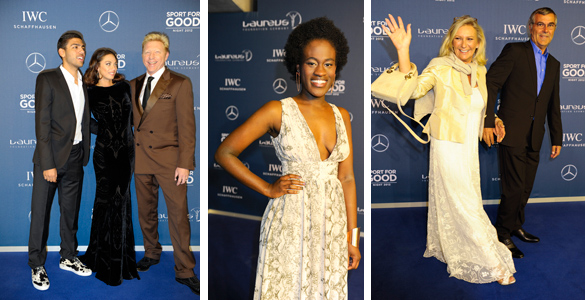 Becker, Klitschko & Co: 1. Laureus Sport for Good Night in München