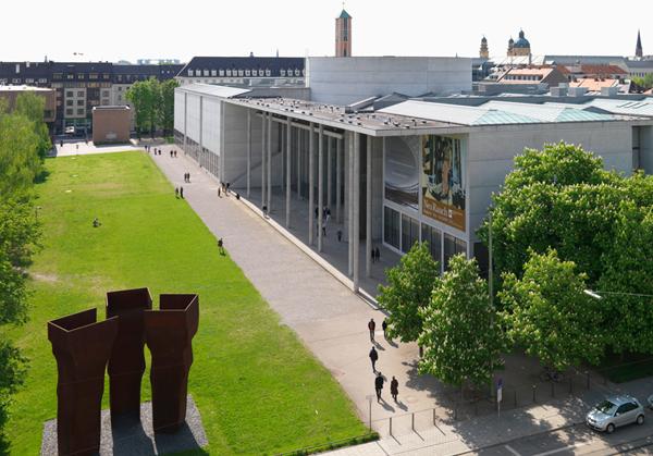 Pinakothek der Moderne. Fotocredit: Sibylle Forster