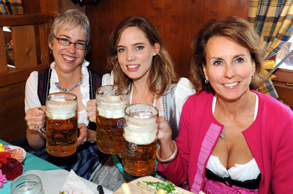 Oktoberfest 2012: So feierten die Promis bei der Tiffany Wiesn