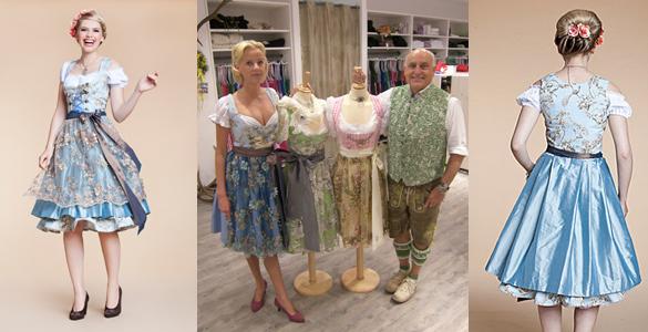 Angermaier Trachtennacht 2012: Couture-Dirndl sind der Trend