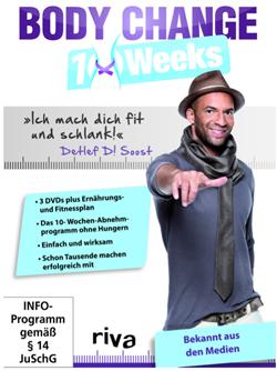 Schlank und fit in 10 Wochen verspricht Detlef D! Soost
