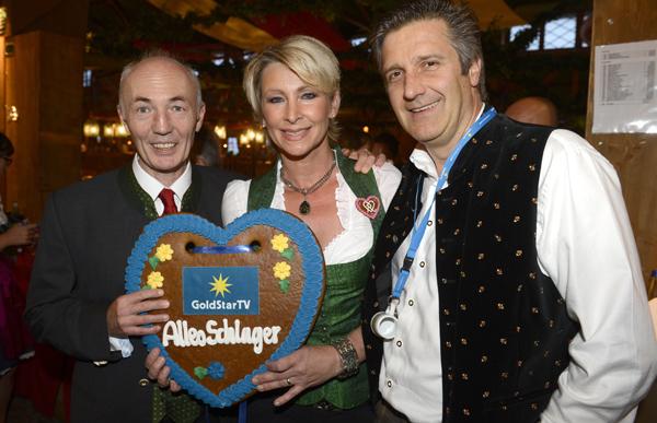 GoldStar TV Wiesn-Promi-Treff 2012 im Weinzelt