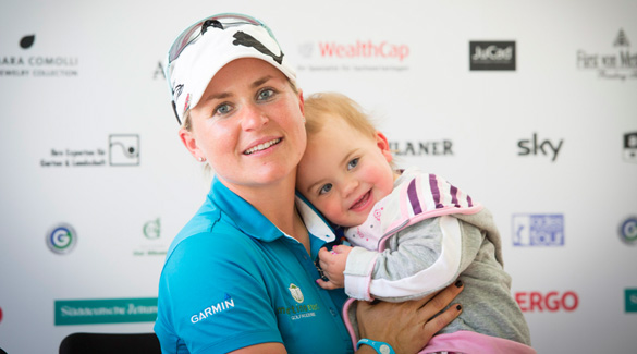 Martina Eberl: Die Münchner Golferin verlässt das Profi-Golf-Lager