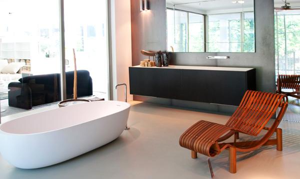 High-end Interior Design: Vier italienische Luxusmarken in einem Geschäft