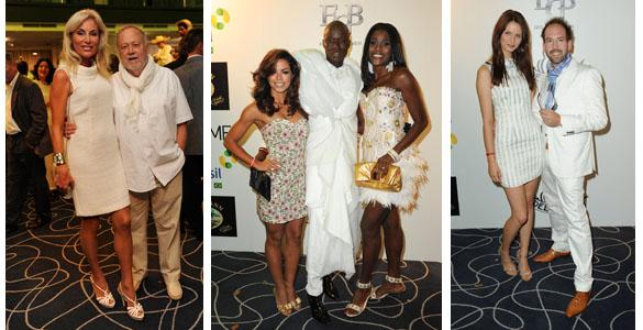 Brasilianische Party 'Feijoada VIB' 2012 mit Dresscode 'weiss'
