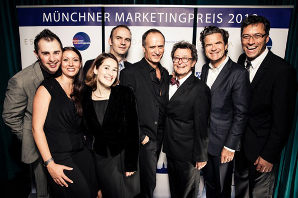 Münchner Marketingpreis 2012 an 'deutschen James Bond der Fashion-Industrie!
