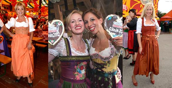 Trachtentrends 2012: Das trägt die Prominenz auf dem Oktoberfest!