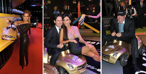 Tribute to Bambi Charity Night: Prominente fuhren Bobby-Car