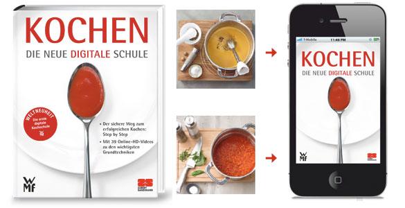 Kochbuch-Bestseller für das 21. Jahrhundert: Kochen mit Online-HD-Kochschule