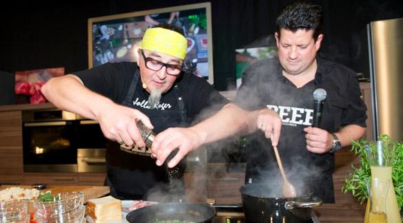eat&STYLE: Diesen Star-Köchen können Sie 2012 in die Kochtöpfe schauen