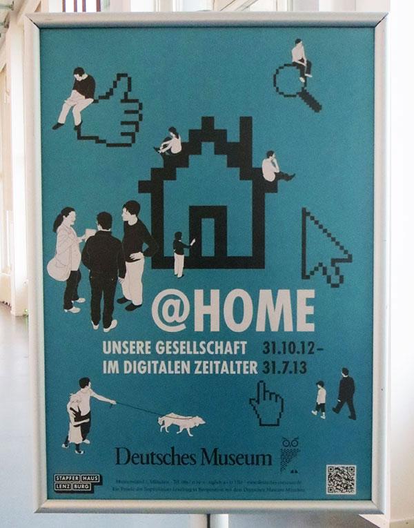Sonderausstellung @Home im Deutschen Museum München