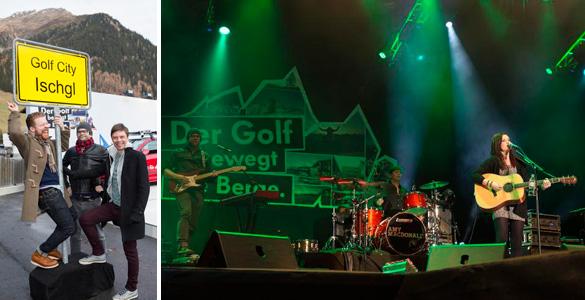 Saison-Opening in Ischgl: Volkswagen-Event 'Der Golf bewegt die Berge' mit Konzert von Amy Macdonald