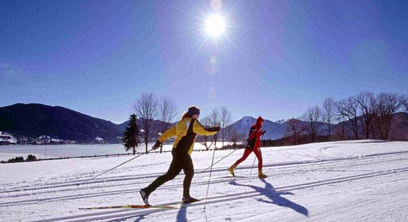 Neuer Langlauf-Trend am Tegernsee: Kulinarisches Langlauf-Hüttenhopping