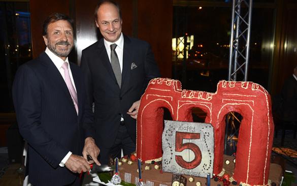 Exklusive Geburtstags-Party: Das Rocco Forte The Charles Hotel feierte fünfjähriges Jubiläum