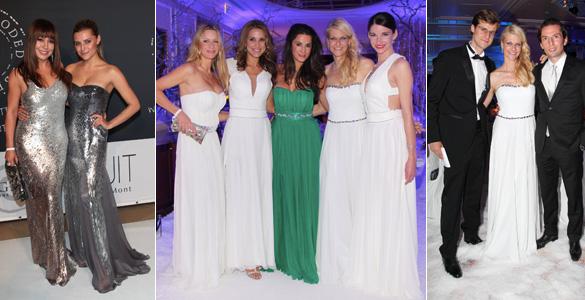 Promis feierten den Start der Online-Kleiderverleih-Plattform dresscoded.com