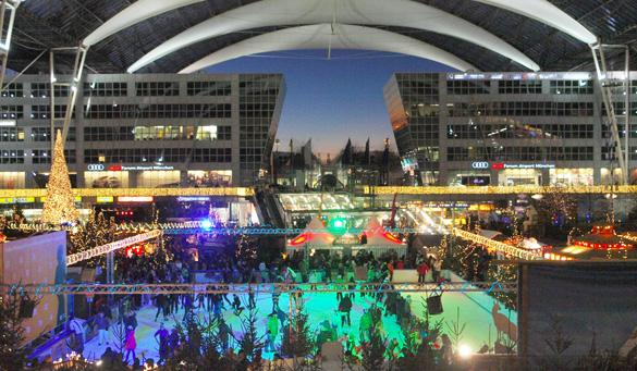 Weihnachtsmarkt am Flughafen: X-MAS-Shoppen, Schlemmen und Eisstock Schiessen