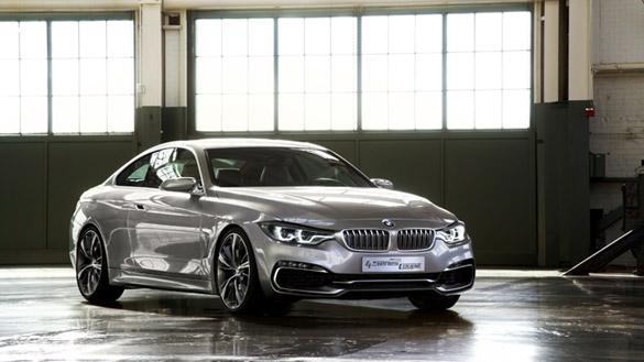 BMW Concept 4er Coupé: Weltpremiere in München