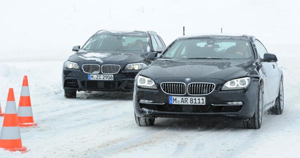 BMWx Drive Mountain Challenge: Bruno Spengler fährt Rennen auf Schnee