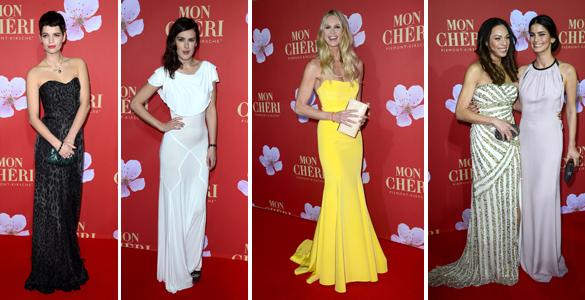 Mon Cheri Barbara Tag 2012: Elle Macpherson, Rumer Willis, Pixie Geldof, …