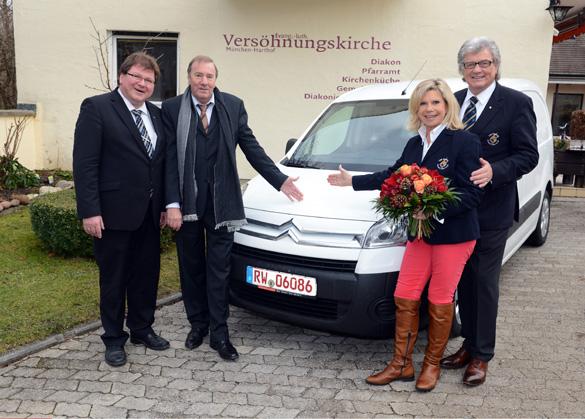 Eagles Charity Golf Club hilft Münchner Kirchenküche