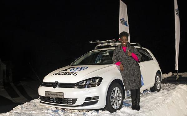 Volkswagen-Event 'Der Golf bewegt die Berge' vom 24.11. bis 1.12.2012