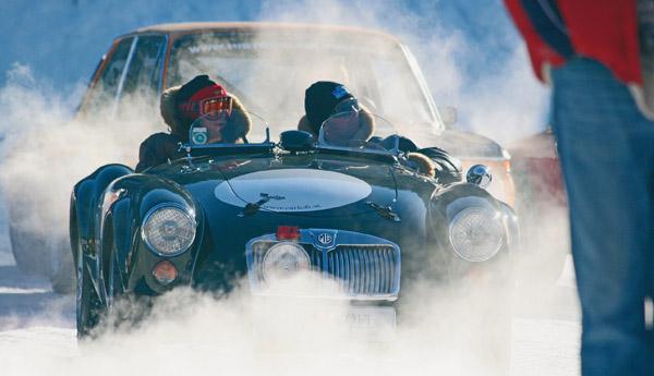 Oldtimer-Rallye auf Schnee: 9. Historic Ice Trophy