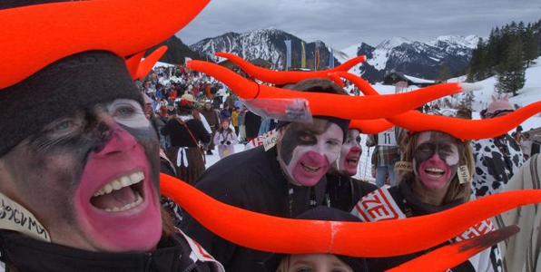Fasching in Bayern: Älteste Ski-Fasching Oberbayerns