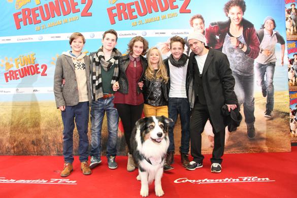 Kino: Premierenparty von Fünf Freunde