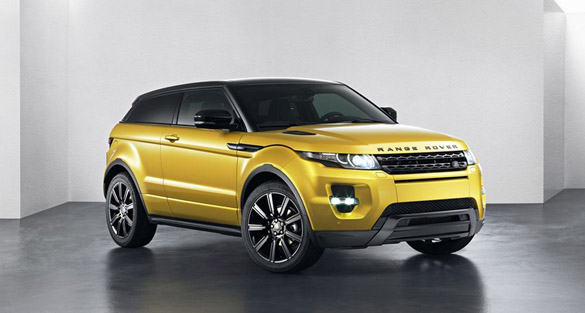 Star auf Brüsseler Autosalon: Range Rover Evoque 'Yellow Edition'