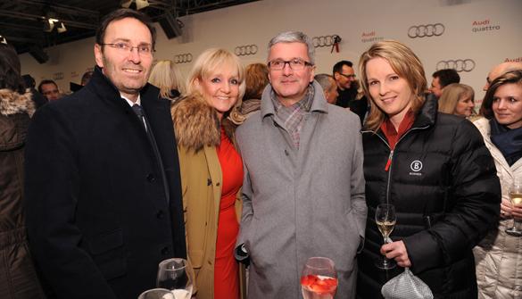 73. Hahnenkammrennen in Kitzbühel 2013: Partyslalom für die VIPs