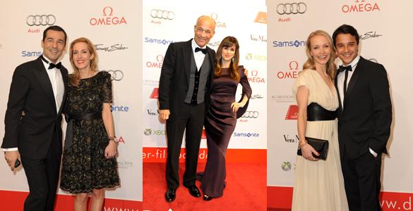 Deutscher Filmball 2013: Abend der Glamour-Film-Paare