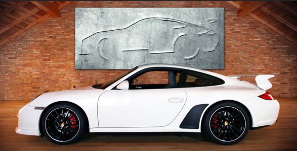 Erster Porsche aus Granit: Eigenes Auto als Kunstobjekt