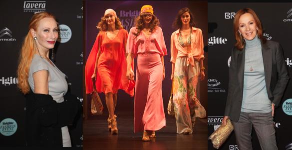 Brigitte Fashion Event mit Andrea Sawatzki und Katja Flint