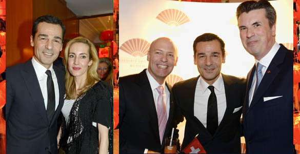 Chinese New Year-Party im Hotel 'Mandarin Oriental'