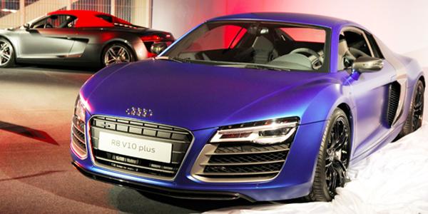 Weltpremiere bei Audi in München: R8 V10 plus