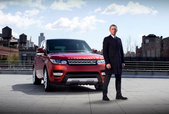Weltpremiere des Range Rover Sport mit Daniel Craig