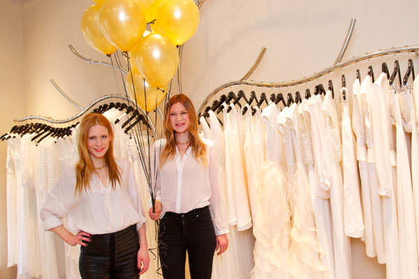 Glamour-Opening des Kavier Gauche-Store