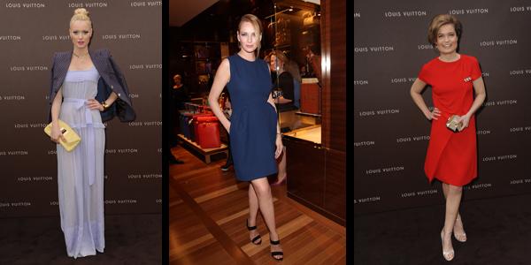 Louis Vuitton Maison Opening: Uma Thurman, Sarah Biasini kamen nach München