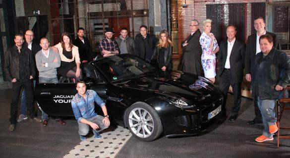 Arthouse-Film mit Starbesetzung und dem neuen Jaguar F-Type