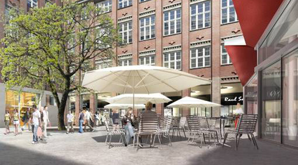 Münchens neues exklusives Shopping-Quartier: Hofstatt