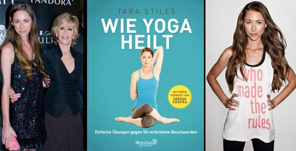 Tara Stiles und ihr Strala-Yoga: Yoga Übungen für Anfänger