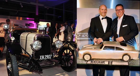 PS, Promis & faszinierende Formen: München feierte 100 Jahre Aston Martin