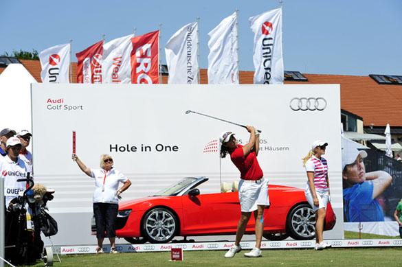 Ladies German Open: Olympiasieger und Weltmeister am Audi Terminal